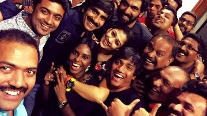 Suriya Mass movie selfie photos
