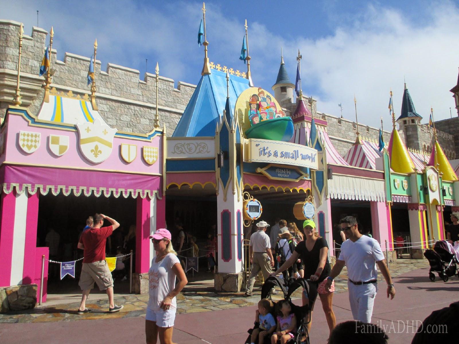 orlando family travel guide 2015 fantasyland it's a small world ride