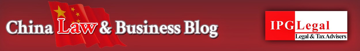 IPG's China Law & Business Blog
