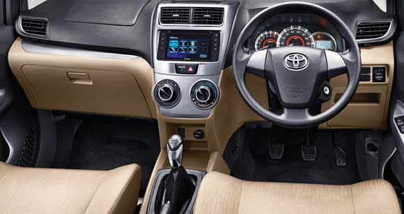 Interior Toyota Grand New Avanza 2015