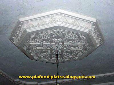 Plafond platre sculpte marocain for Platre sculpte marocain