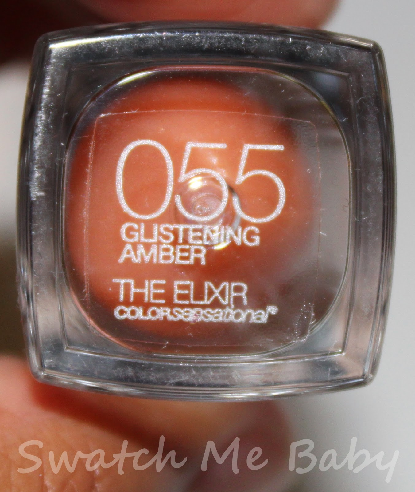 Maybelline Color Elixir in Glistening Amber Label