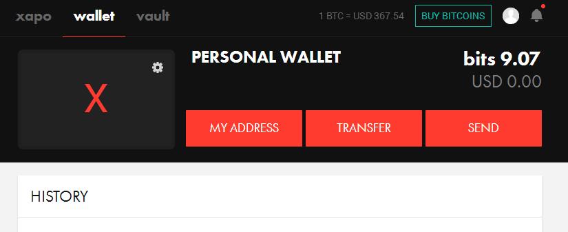 Xapo dịch vụ lưu trữ và giao dịch bitcoin tốt nhất