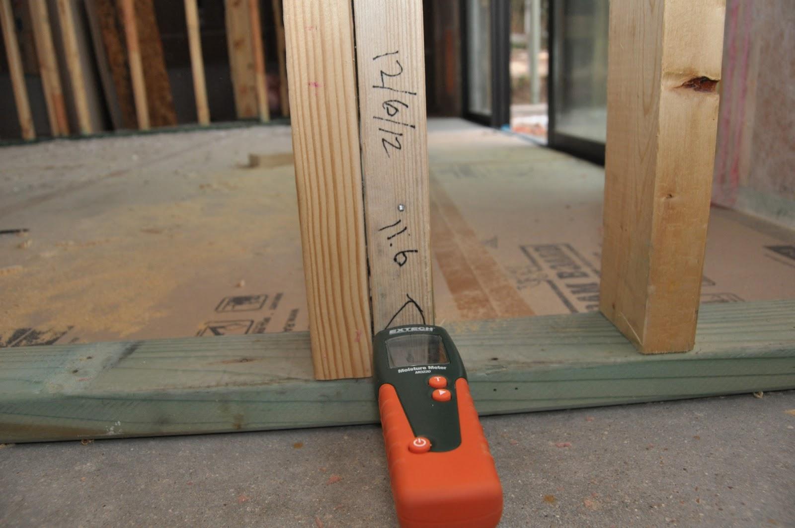 Drying wet framing lumber fine homebuilding for 4 8 meter decking boards