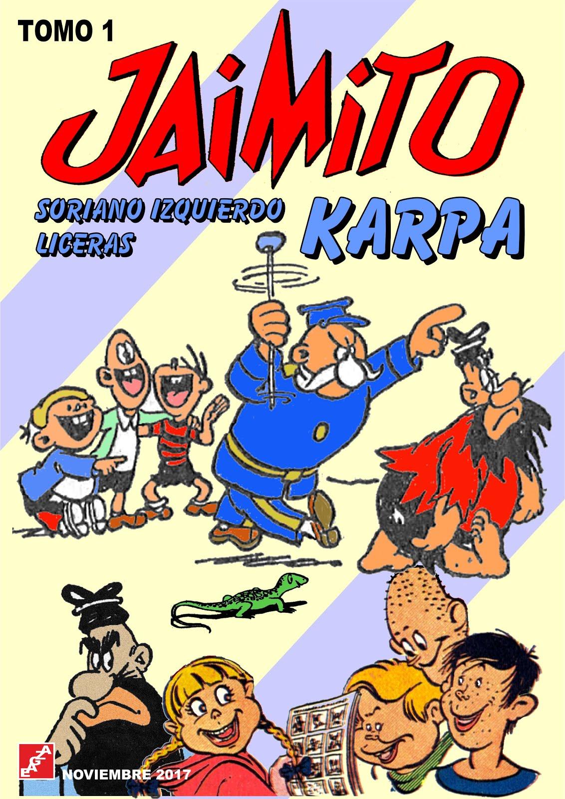 Recopilación de  la revista JAIMITO al completo por autores