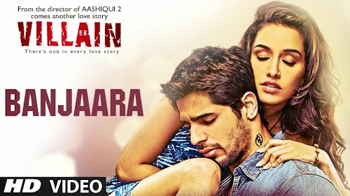 Banjaara - Ek Villain (2014) Full Music Video Song Free Download And Watch Online at