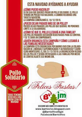 Campaña Pollo Solidario Barrio Vivo Algete