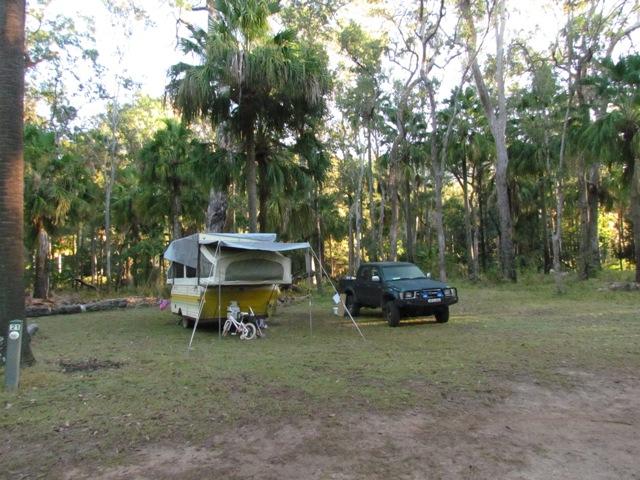 Carnarvon Gorge campsite