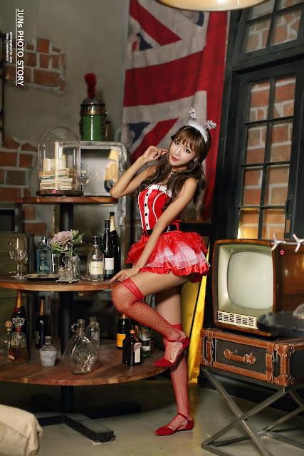 4 Jo In Young - merry christmas - very cute asian girl-girlcute4u.blogspot.com