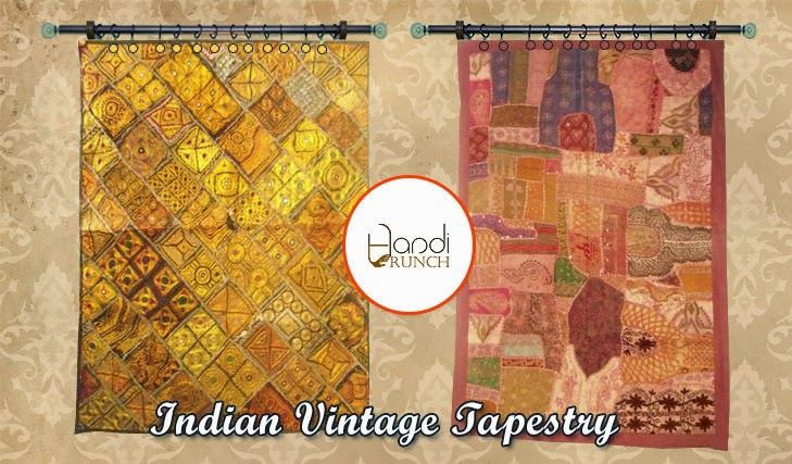 Vintage Tapestry Is Famous Artwork Of Textile. Tapestry Is Not Just  Interior Beauty Of Your Home Decor But Also A Sense Of Traditional Culture  And History.