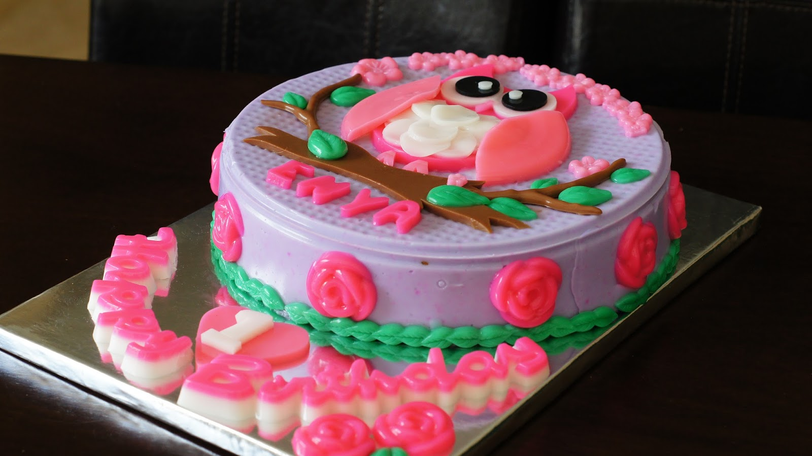 Vanessa Owl Yam Layer Jelly Cake