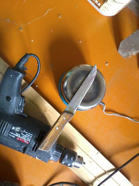 Как резать пенопласт ножом