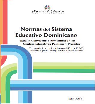 Normas del Sistema  Educativo Dominicano
