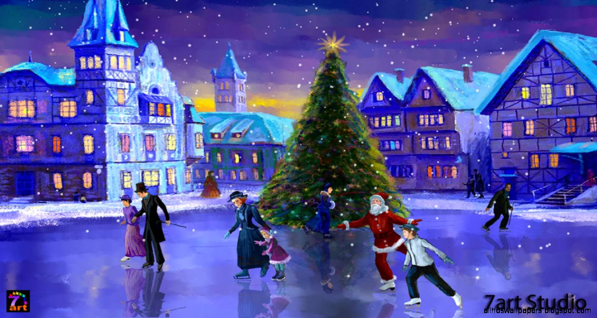 Christmas Rink Screensaver And Live Wallpaper Your Brilliant