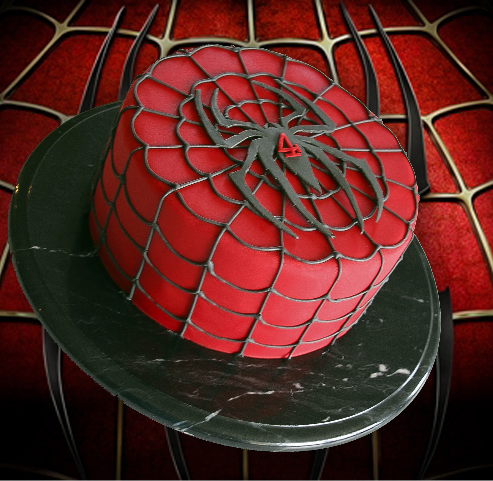 Spiderman Cake Cute Sweet Things