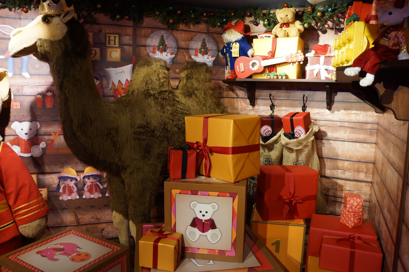 harrods christmas grotto 2015 giant toys toyshop