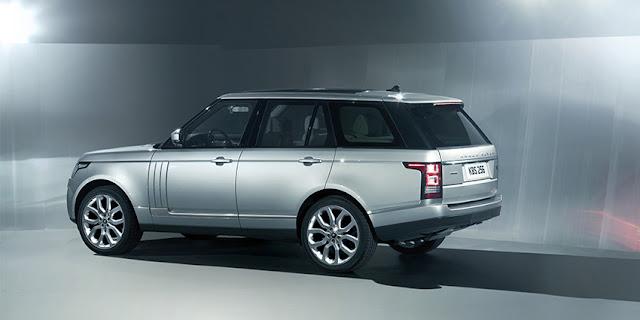 Range Rover rear view