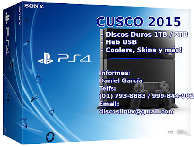 Disco duro Ps4 Lima Cusco Peru 2015 cooler venta Disco duro PS3 soporte instalacion