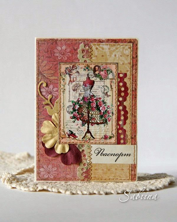 Обложка для паспорта, обложка для документов, своими руками, ручная работа, hand made, сувениры, подарки женщинам, к празднику, аксессуар