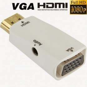 Adapter HDMI to VGA + Audio