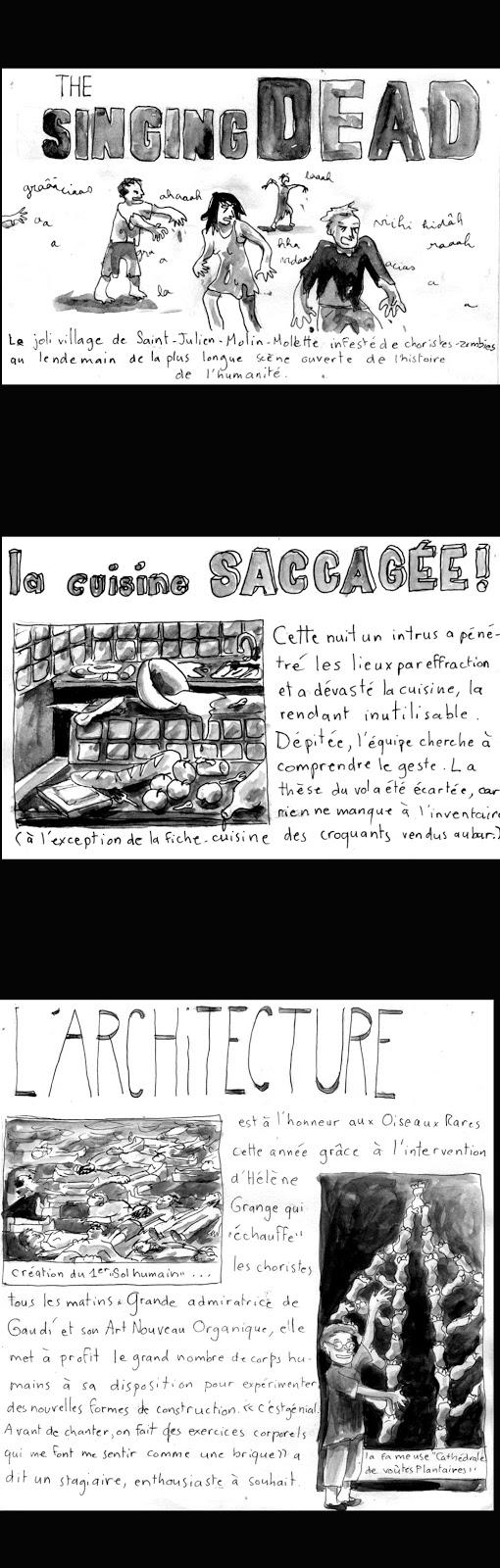 En même temps, si vous aviez goûté les croquants de Gaëlle, vous sombreriez sûrement aussi dans la criminalité. Sinon, Hélène Grange est réputée pour ses méthodes d'échauffement originales et créatives. J'en rajoute à peine.