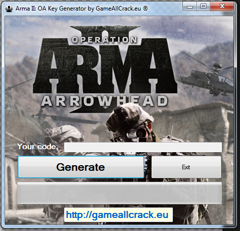 arma 2 oa cd key generator