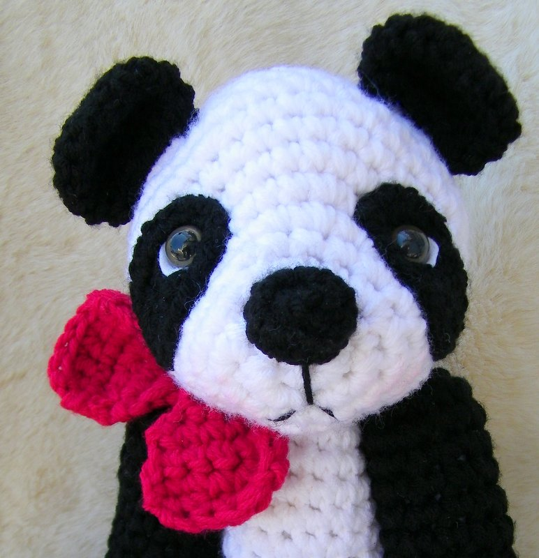 Wool And Whims New Panda Bear Crochet Pattern