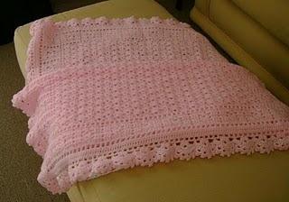 Copertina per bebè rosa