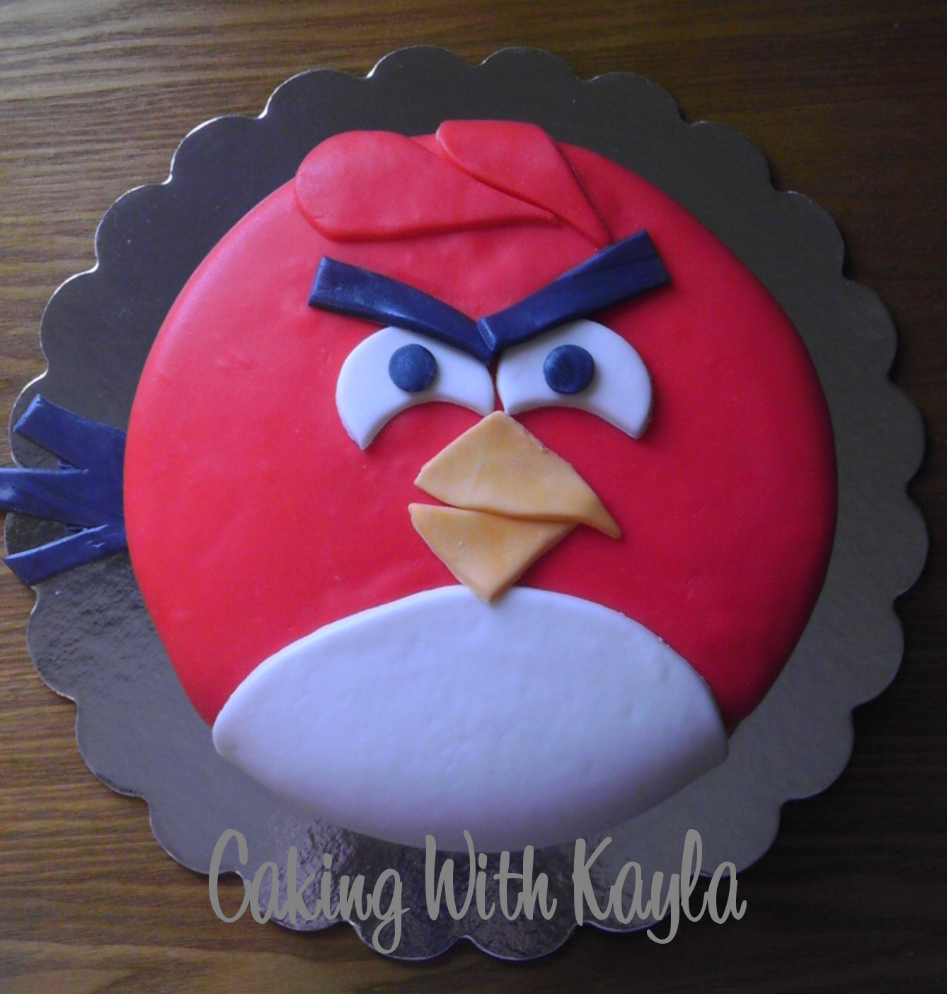 Caking with Kayla Angry Birds