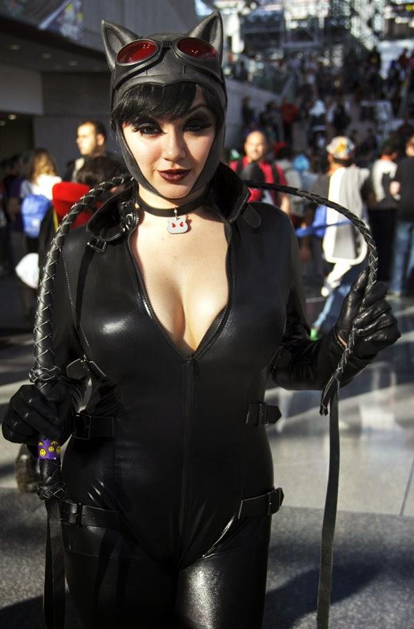 Catwoman Sexy Cosplay de la New York Comic Con 2013