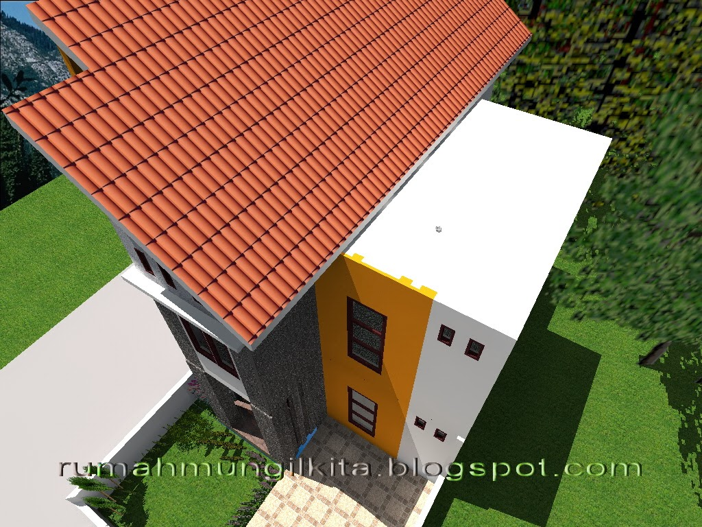 Renovasi rumah tipe 27 tanah 72 m2