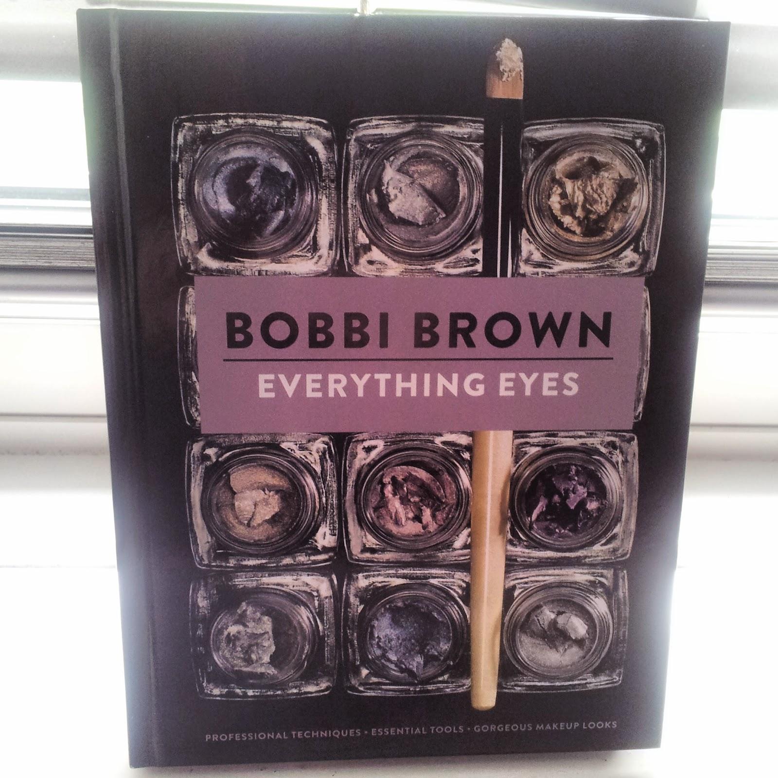 Bobbi brown everything eyes book make-up artist