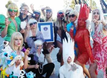 World's Largest Gathering Of Lady Gagas