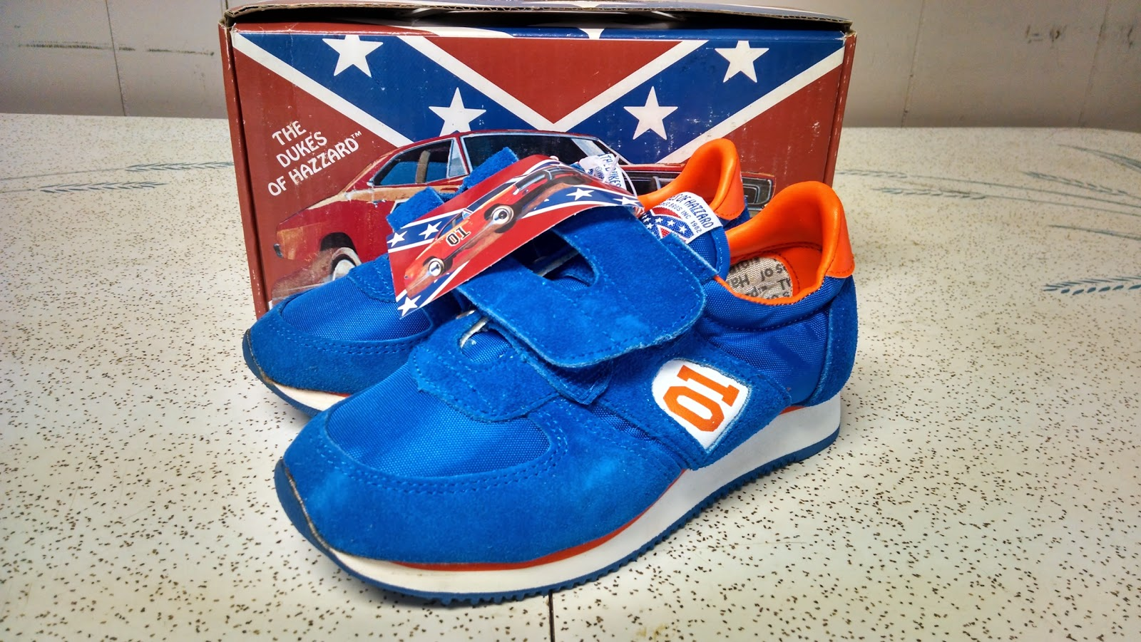Holiest of Holy Grails: Dukes of Hazzard Children's Tennis Shoes
