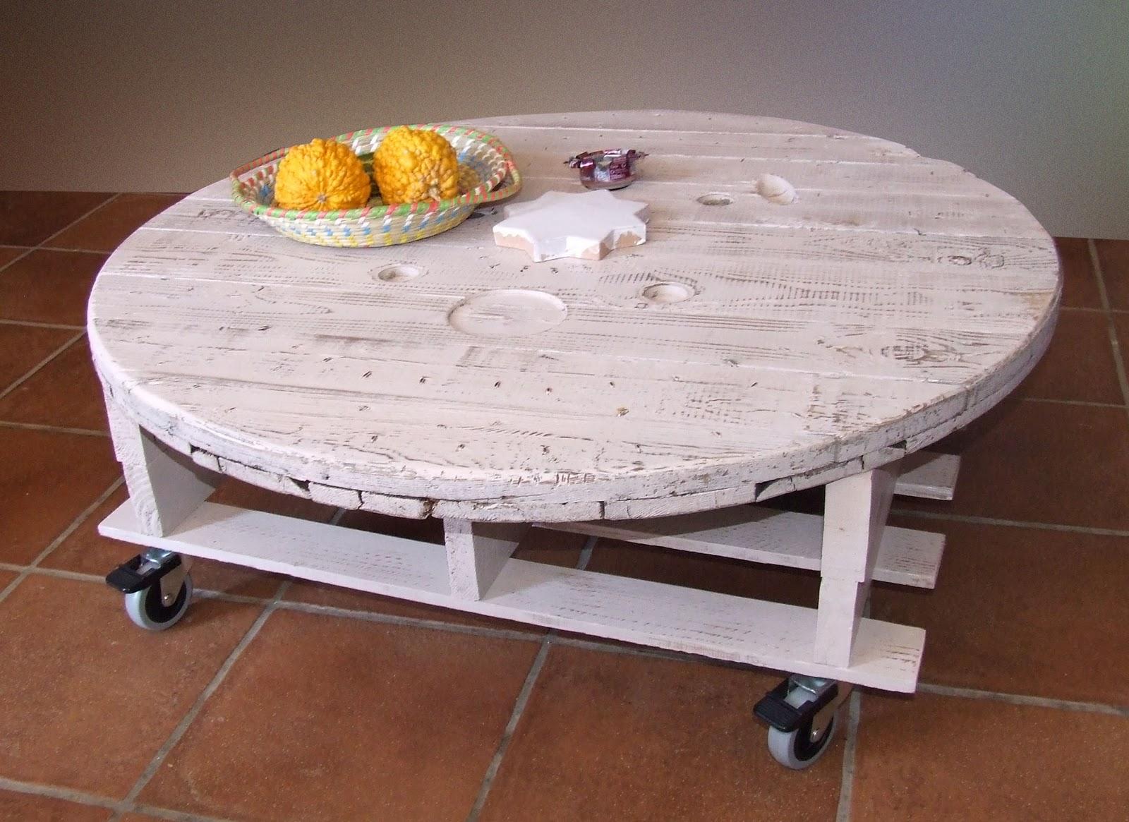 Las cosas de marita mesa de palet reciclado - Mesas de pale ...