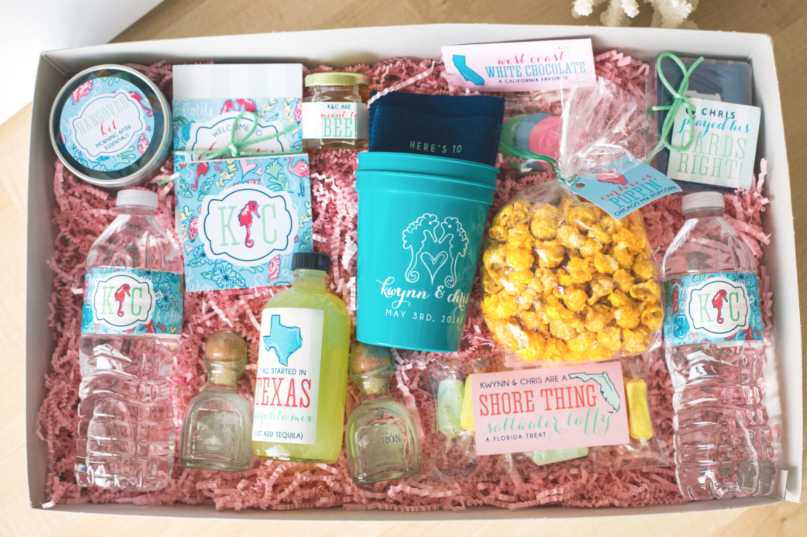 Destination Wedding Welcome Box