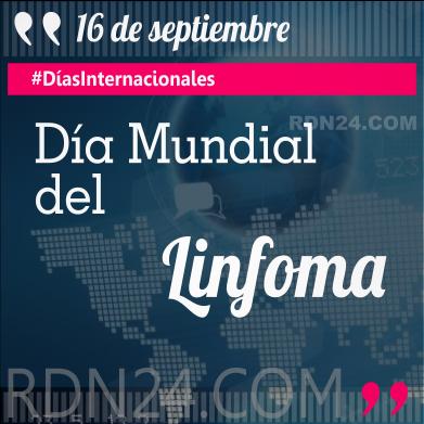 Día Mundial del Linfoma #DíasInternacionales