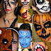 Halloween makeup ideas for Women with Scary paintings