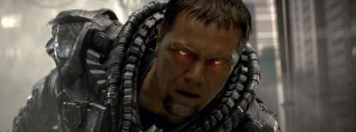 Michael Shannon stars as General Zod in MAN OF STEEL
