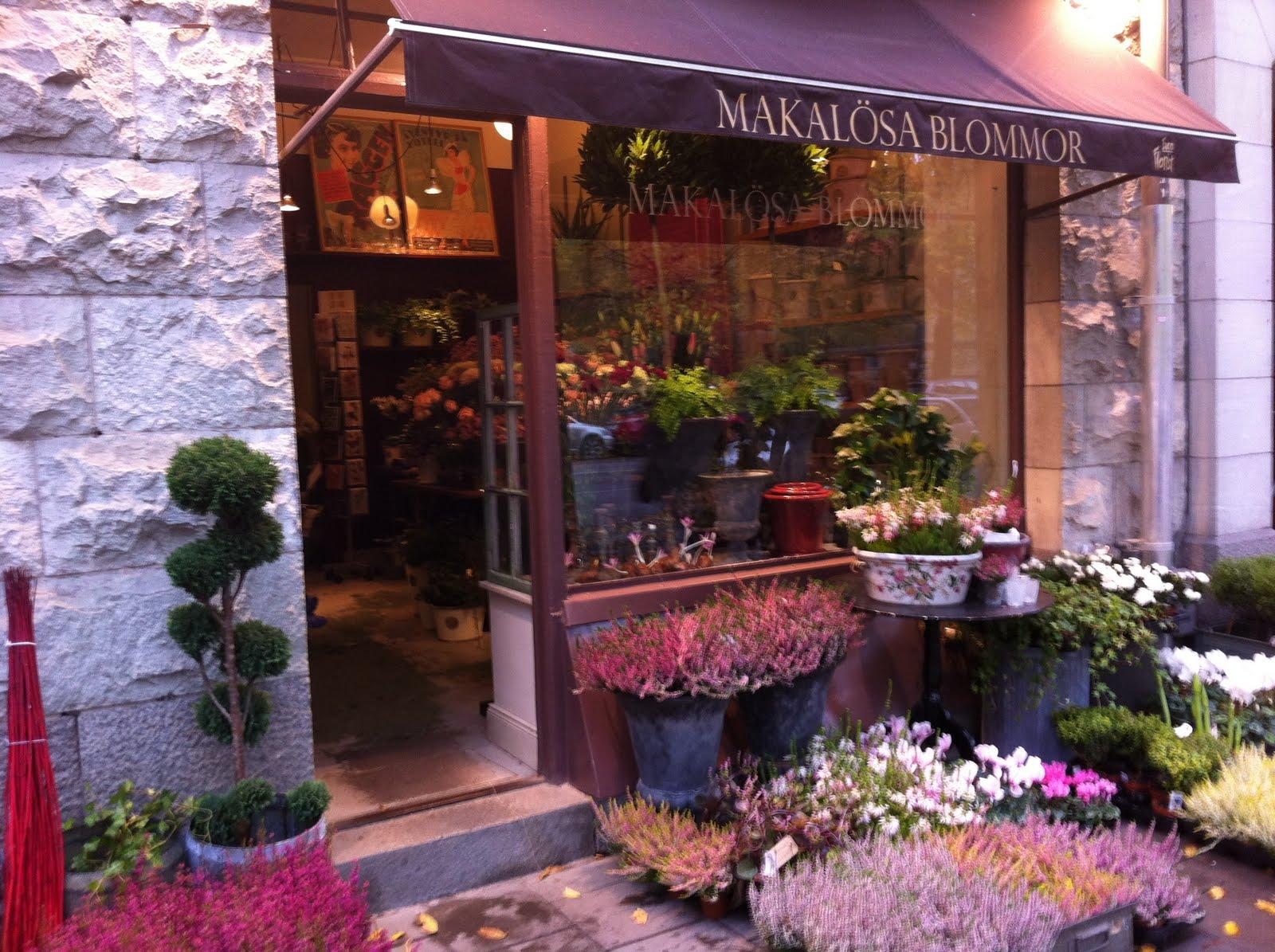 makalösa blommor stockholm