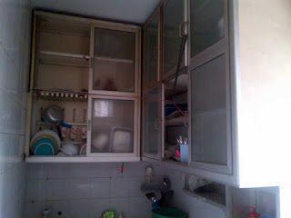 Rak piring jemuran lemari dll for Dapur set aluminium