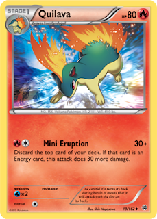 Quilava BREAKthrough Pokemon Card