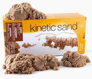 aktiviti kinetic sand
