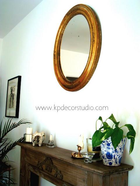 comprar y decorar con espejos antiguos de colección. Antigüedades en valencia. Objetos de decoración vintage