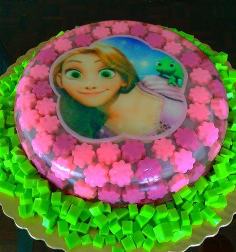 Rapunzel gelatinas - Imagui