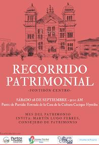 Recorrido patrimonial por Fontibón Centro este 28 de septiembre