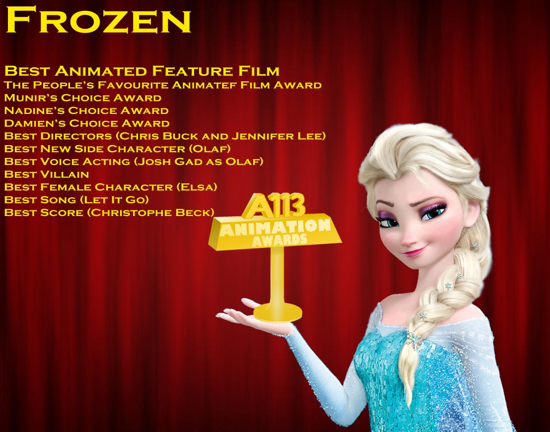 A113 in frozen frozen walt disney