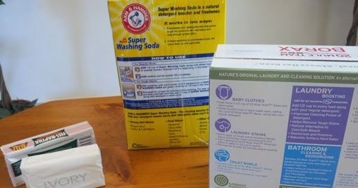 how to make your laundry detergent at home