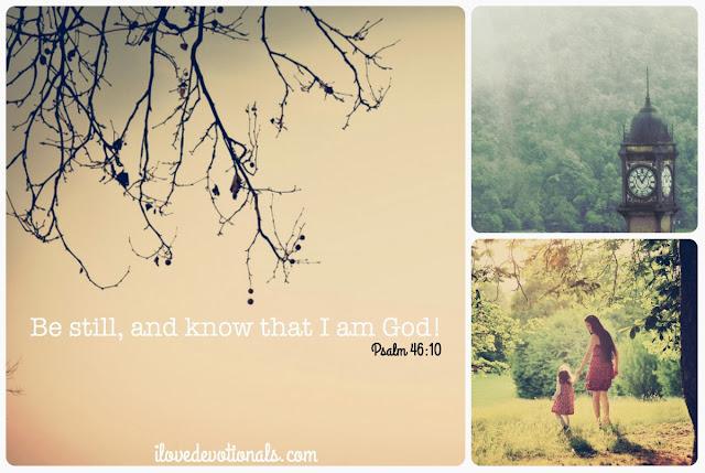 Devotional about Psalm 46:10