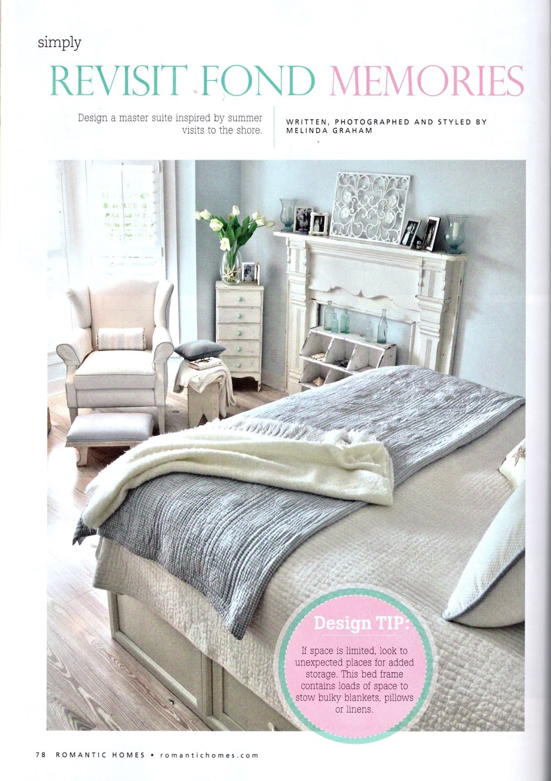 Romantic Homes June 2015